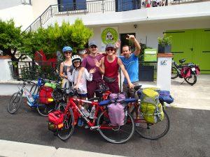 Une étape en gîte de groupe sur la Viarhona à Valence Drôme.